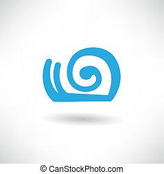 escargot, icône