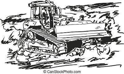 escavadora