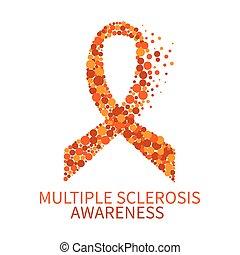 esclerosis múltiple, cartel, conocimiento
