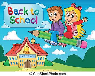 escola brinca, tema, imagem, 6