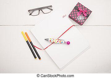 escola, objetos