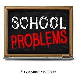 escola, problemas