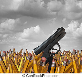 escola, tiroteio