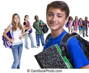 escolares, diversidad