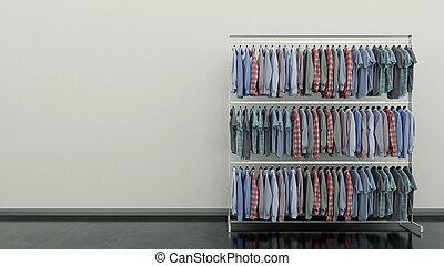 escolha, roupas