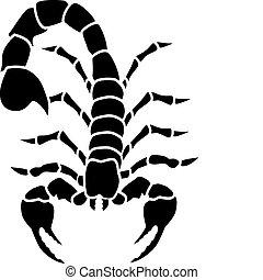 escorpión, tatuaje