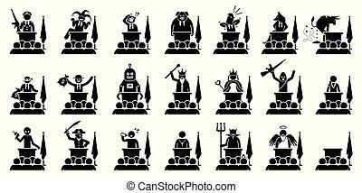 escorvar, diferente, dar, régua, político, ministro, presidente, país, tipo, ou, speech.