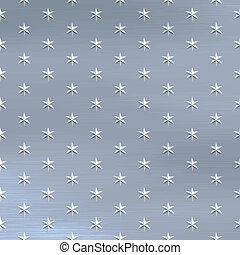 escovado, estrelas