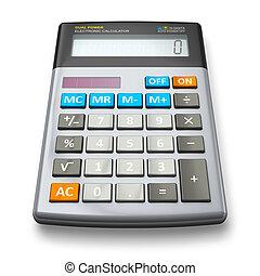 escritório, calculadora