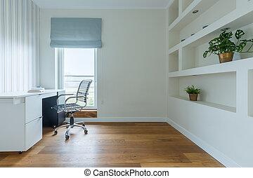 escritório lar, área