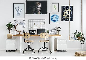 escritório lar, desenho