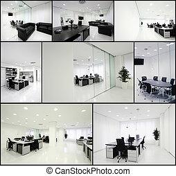 escritório, modernos