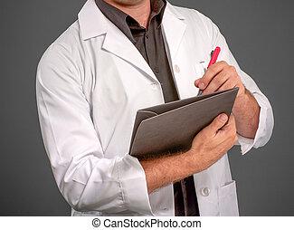escrita, homem, laboratório, anônimo, agasalho