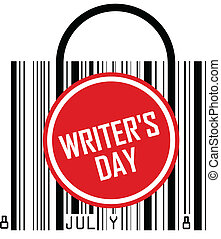 escritores, dia