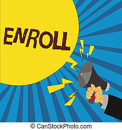 escritura, officially, enroll., empresa / negocio, o, ...
