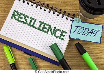 escritura, rápidamente, dificultades, capacidad, foto, nota, él, actuación, pluma, hoy, luego, de madera, resilience., recobrar, noteoad, showcasing, plano de fondo, taza, empresa / negocio, persistencia, marcador, escrito