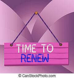 escritura, renew., vida, cuerda, acquired, tiempo, plano de ...