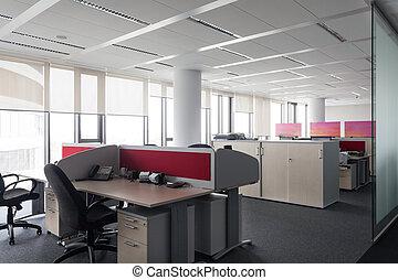escrivaninha, em, escritório
