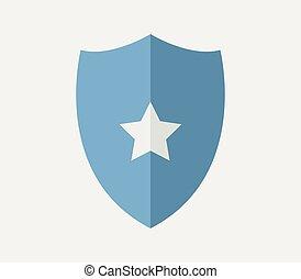 escudo, ícone