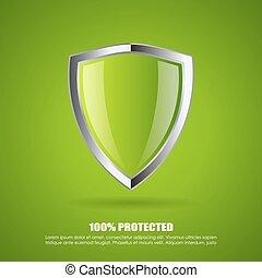 escudo, proteção, ícone