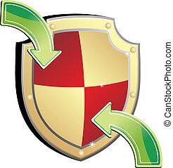 escudo, proteção
