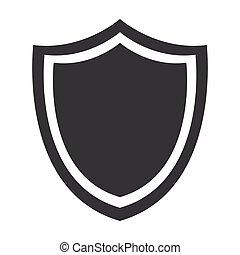 escudo, proteção, emblema, insignia, segurança