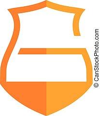 escudo, proteção, logotype