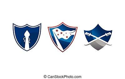 escudo, proteção, modelo, jogo
