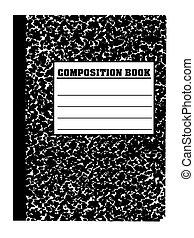escuela, cuaderno