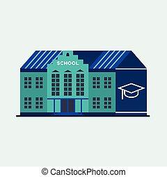 escuela, education.