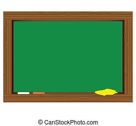 escuela, tabla