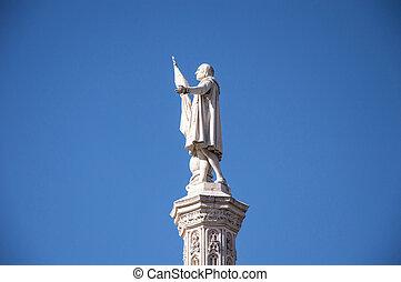 escultura, christopher colón