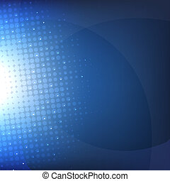 escuro azul, fundo, com, borrão