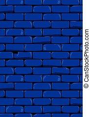 escuro azul, parede