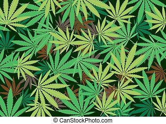 escuro, cannabis, cânhamo, radial