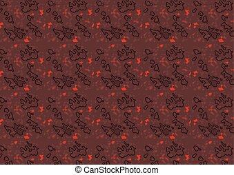 escuro, estruturado, vermelho, textura