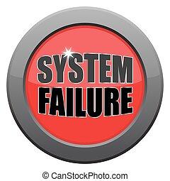 escuro, fracasso, metal, sistema, ícone