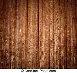 escuro, madeira, pranchas