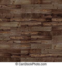 escuro, marrom, madeira, seamless