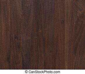 escuro, mogno, madeira, fundo, textura