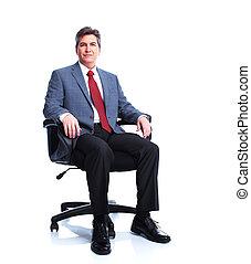 esecutivo, businessman.