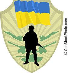 esercito, di, ucraina