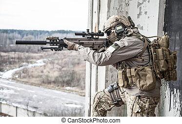 esercito stati uniti, guardia forestale