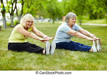 esercizio, bicipite