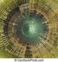 esférico, arranhado, diferente, antigas, gray;, cor, vindima, green;, amarela, (beige);, brown;, experiência., patterns:, cyan, envelhecido, textura