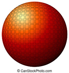 esfera, desenho