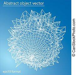 esfera, estrutura molecular, forma