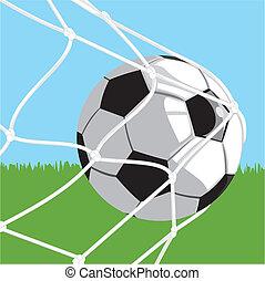 esfera football, meta, -