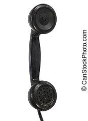 esfera, microteléfono, rotatorio, vendimia, retro, teléfono