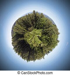 esfera, natureza